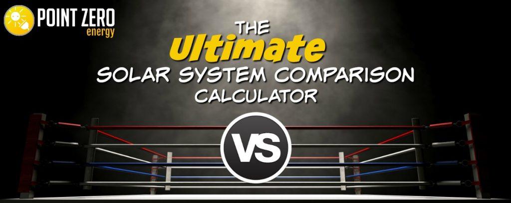 solar system comparison calculator