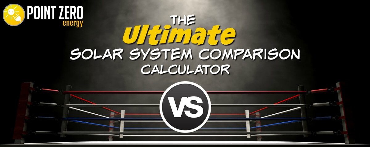 solar system comparison calculator