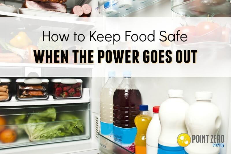 Power outage preserve food